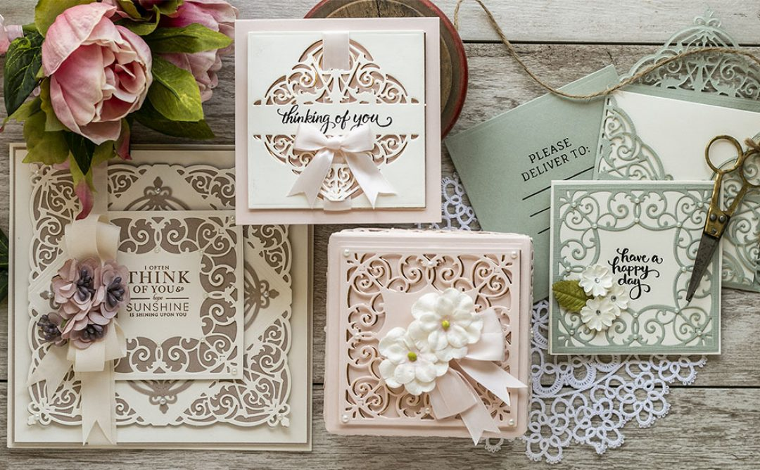 May 2020 Amazing Paper Grace Die of the Month is Here – Fleur de Lis Grandeur Fold Over