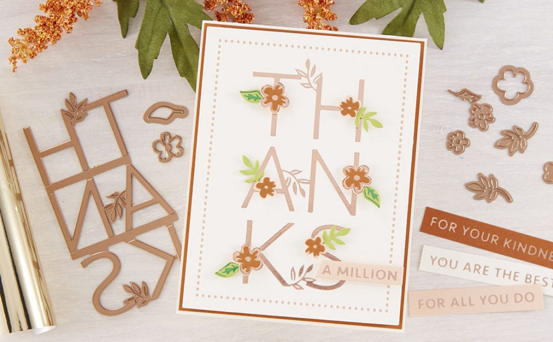 May 2020 Glimmer Hot Foil Kit of the Month is Here – Thanks a Million