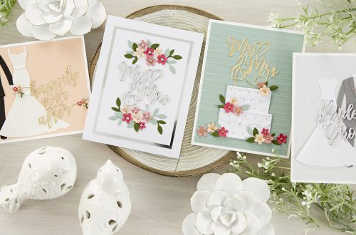 Spellbinders Wedding Season Project Kit is Here! #Spellbinders #NeverStopMaking #DieCutting #Cardmaking