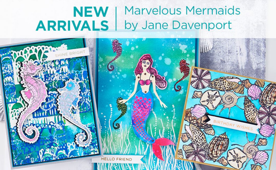 What's New | Marvelous Mermaids Collection by Jane Davenport