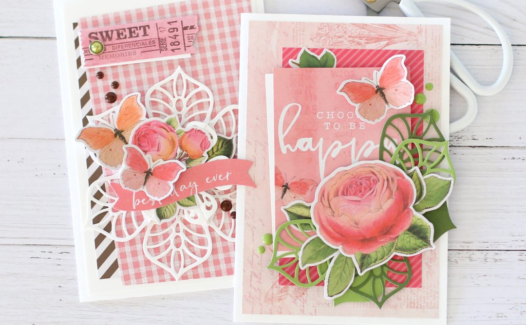 Dimensional Doilies Inspiration | One Die Set – Two Cards with Anya Lunchenko