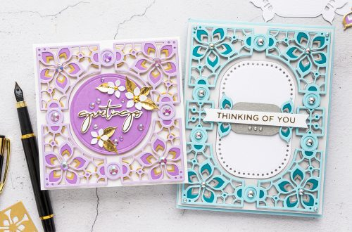 Spellbinders May 2020 Large Die of the Month is Here – Kaleidoscope Card Creator #Spellbinders #SpellbindersClubKits #NeverStopMaking