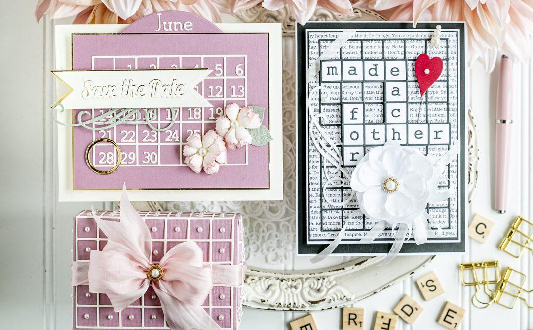 Spellbinders June 2020 Amazing Paper Grace Die of the Month is Here – A2 Snip It Grid and Calendar Creator #Spellbinders #NeverStopMaking #DieCutting #AmazingPaperGraceClubKit