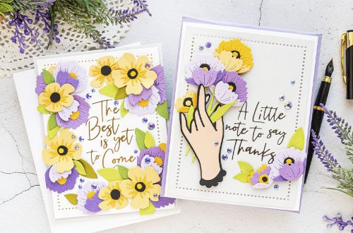 Spellbinders June 2020 Small Die of the Month is Here – Handing You a Smile #SpellbindersClubKits #Diecutting #NeverStopMaking #Cardmaking