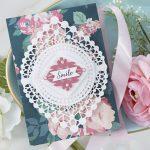 Cardmaking Inspiration | Smile Card Featuring Nobel Chatelaine with Kim Kesti
