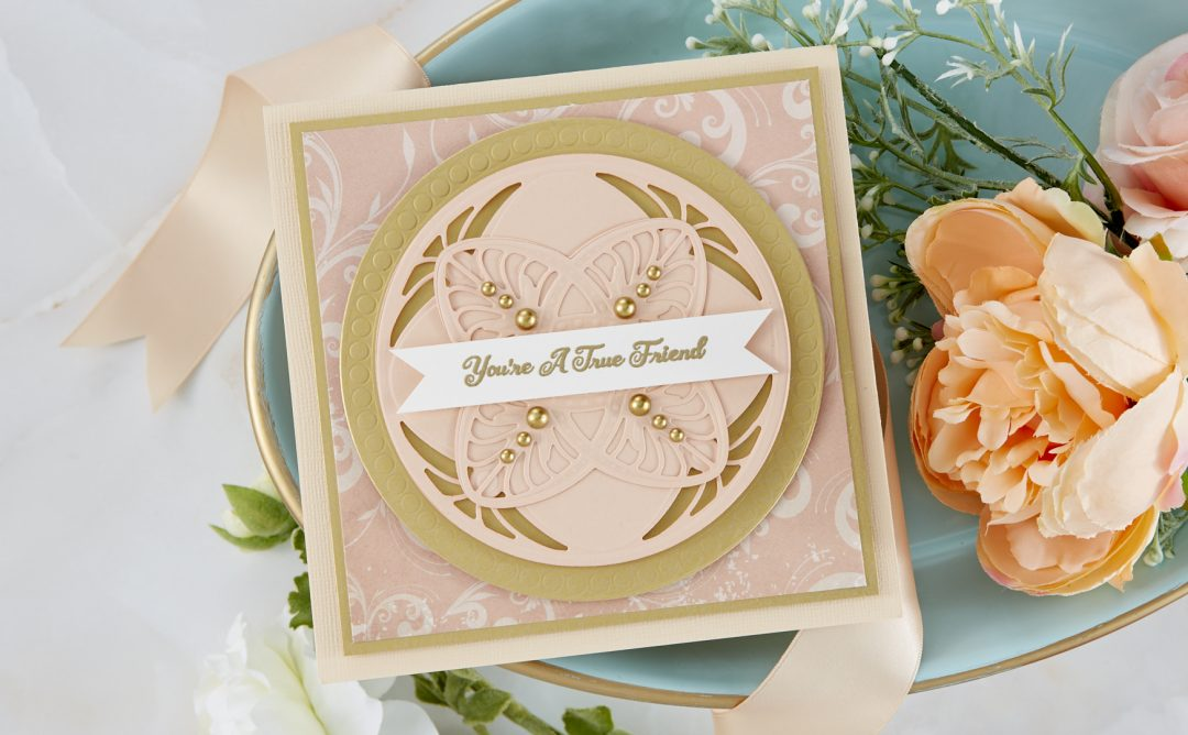 Cardmaking Inspiration | You're a True Friend Card Featuring Tiffany Laveliere with Kim Kesti