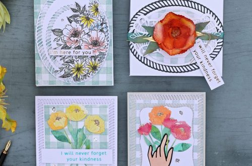 Spellbinders Elegant Twist Collection by Becca Feeken - Cardmaking Inspiration with Bibi Cameron #Spellbinders #NeverStopMaking #DieCutting #Cardmaking