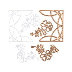 Spellbinders July 2020 Small Die of the Month is Here – Ornamental Floral Card Creator #Spellbinders #NeverStopMaking #SpellbindersCardKits #Cardmaking