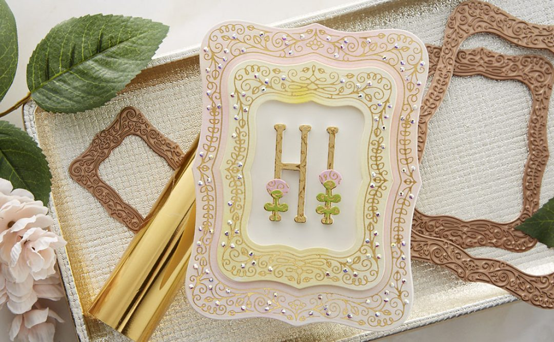 July 2020 Glimmer Hot Foil Kit of the Month is Here – Illustrative Floral