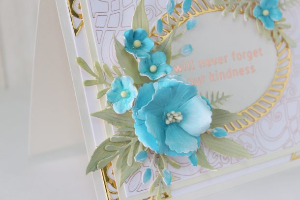 Spellbinders Elegant Twist Collection by Becca Feeken - Cardmaking Inspiration with Hussena Calcuttawala #spellbinders #NeverStopMaking #AmazingPaperGrace