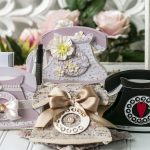 August 2020 Amazing Paper Grace Die of the Month is Here – Pop Up 3D Vignette Telephone