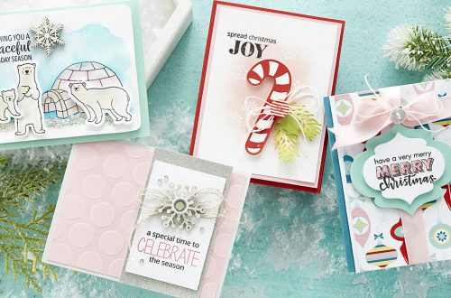Spellbinders & FSJ Joy and Wonder Project Kit is Here! #Spellbinders #NeverStopMaking #DieCutting #Cardmaking #ChristmasCardmaking
