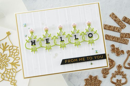 Spellbinders August 2020 Small Die of the Month is Here – Sitting Pretty #SpellbindersClubKits #Spellbinders #NeverStopMaking #Cardmaking #DieCutting