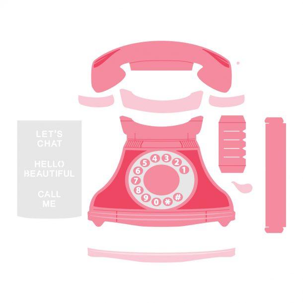 Spellbinders August 2020 Amazing Paper Grace Die of the Month is Here – Pop Up 3D Vignette Telephone #SpellbindersClubKits #Spellbinders #NeverStopMaking #Cardmaking #DieCutting #AmazingPaperGraceClubKit