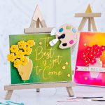 August 2020 Large Die of the Month is Here – 3D Still Life Easel & Canvas