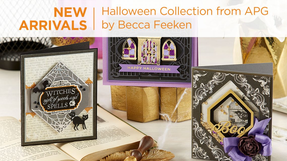 What's New | Halloween 2020 Collection by Becca Feeken for Spellbinders #Spellbinders #NeverStopMaking #DieCutting #Cardmaking #Halloween #AmazingPaperGrace