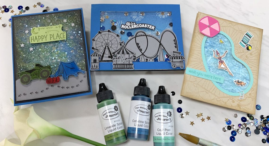 The Happy Place Project Kit | Cardmaking Inspiration with Carrie Rhoades | Video #Spellbinders #NeverStopMaking