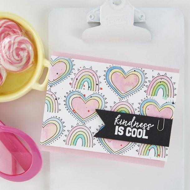Spellbinders Cards for Kindness #spellbinders #Neverstopmaking #cardmaking