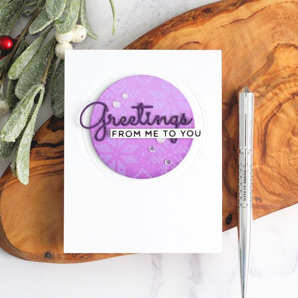 The Glimmering Christmas Project Kit by Spellbinders | Cardmaking Inspiration with Michelle Short | Video tutorial #Spellbinders #NeverStopMaking #DieCutting #Cardmaking #ChristmasCardmaking #GlimmerHotFoilSystem