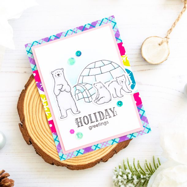 The Joy and Wonder Project Kit by Spellbinders & FSJ | Cardmaking Inspiration with Laura Volpes | Video tutorial #Spellbinders #NeverStopMaking #DieCutting #Cardmaking #ChristmasCardmaking
