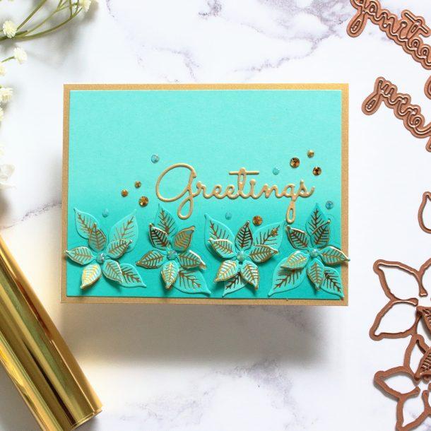 The Glimmering Christmas Project Kit by Spellbinders | Cardmaking Inspiration with Amanda Korotkova | Video tutorial #Spellbinders #NeverStopMaking #DieCutting #Cardmaking #ChristmasCardmaking #GlimmerHotFoilSystem