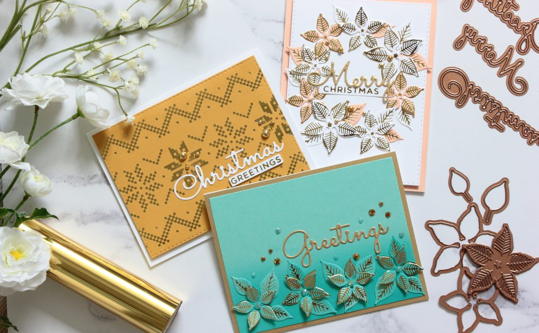 The Glimmering Christmas Project Kit | Cardmaking Inspiration with Amanda Korotkova | Video