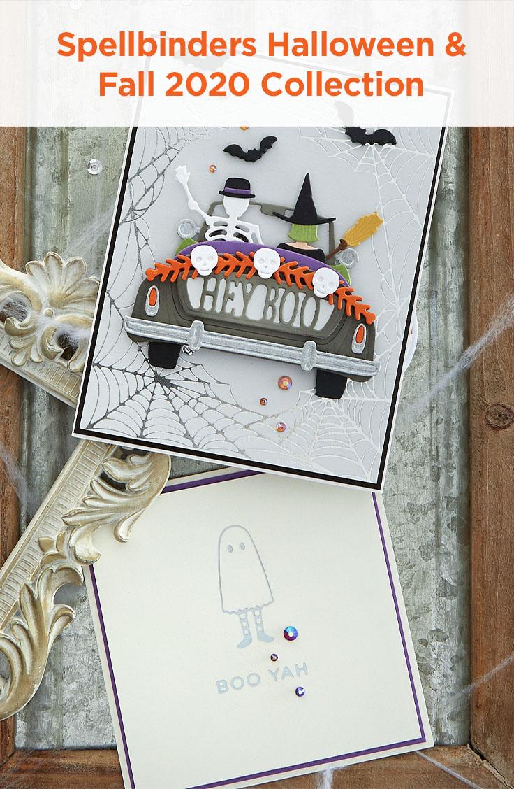 Spellbinders Fall & Halloween 2020 Collection #Spellbinders #NeverStopMaking #DieCutting #GlimmerHotFoilSystem