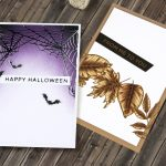 Foiled Fall and Halloween Cards with Kaja