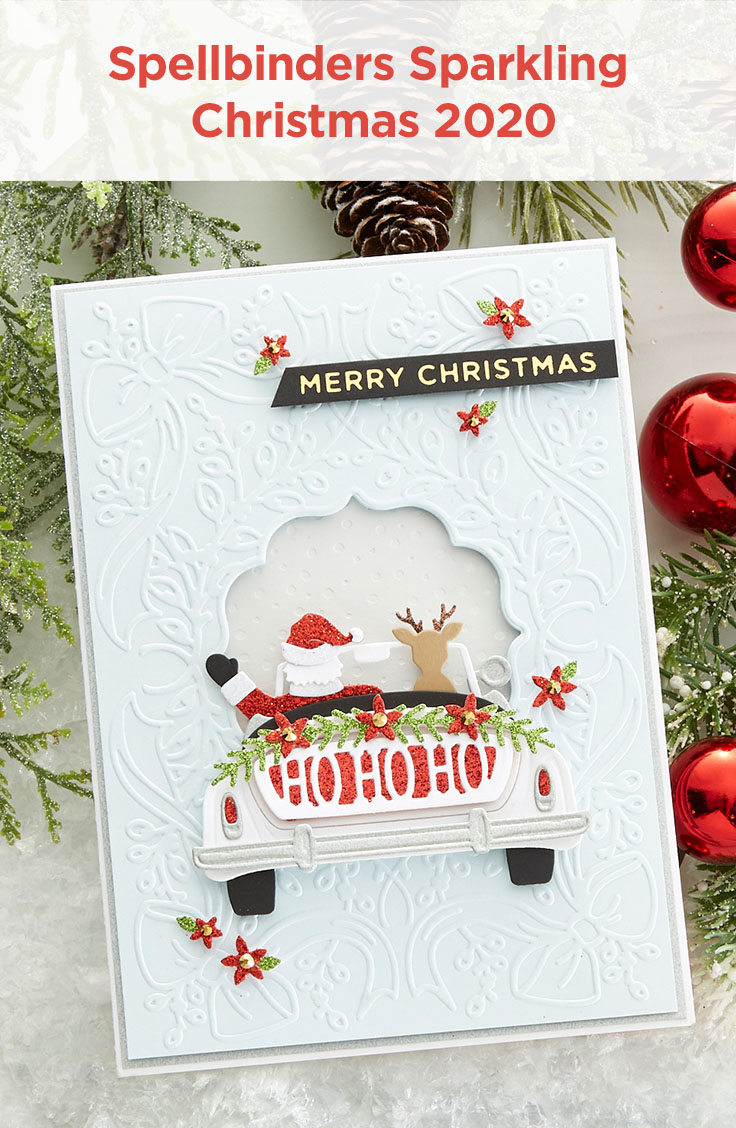 Spellbinders Sparking Christmas 2020 Collection #Spellbinders #NeverStopMaking #DieCutting #ChristmasCardmaking