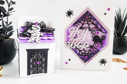 Spellbinders Halloween Collection by Becca Feeken | Inspiration with Yasmin Dias #Spellbinders #NeverStopMaking #AmazingPaperGrace #DieCutting #Halloween