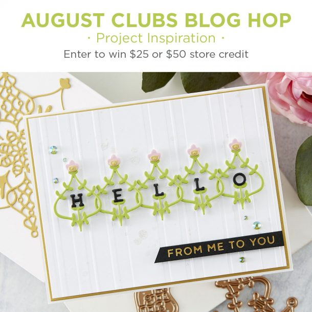 August 2020 Clubs Inspiration Blog Hop + Giveaways