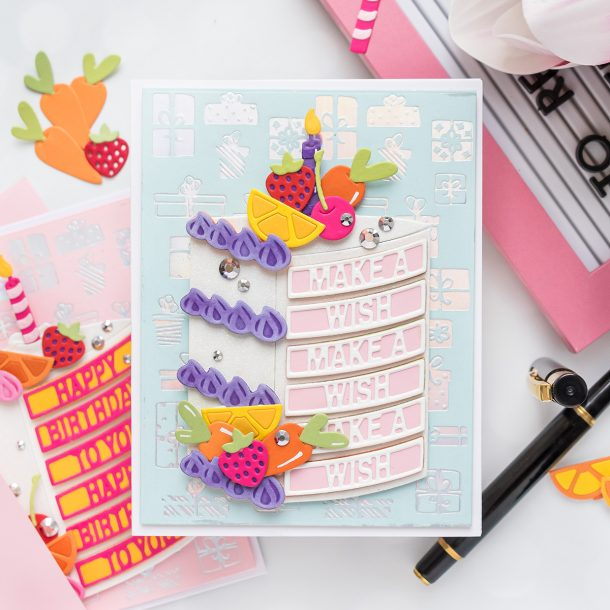 Spellbinders September 2020 Large Die of the Month is Here – Have Your Cake #Spellbinders #NeverStopMaking #Cardmaking