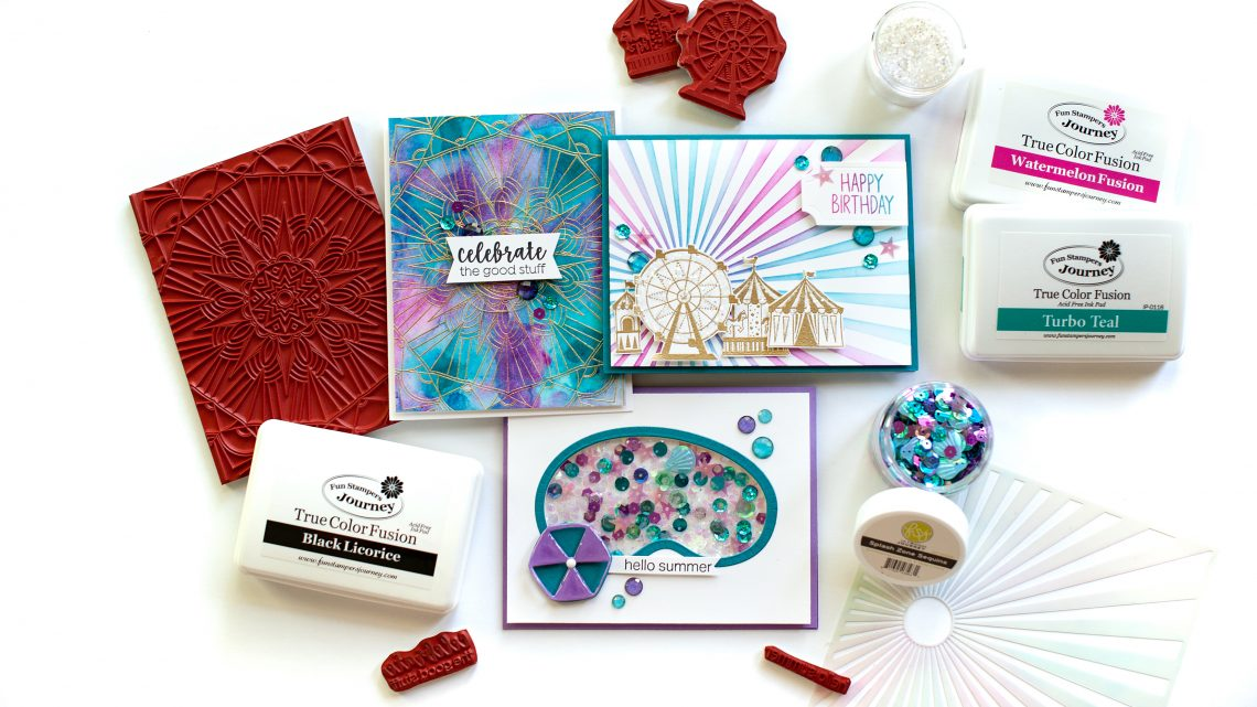 Spellbinders / Fun Stampers Journey Happy Place Project Kit is Here! #Spellbinders #NeverStopMaking #Cardmaking
