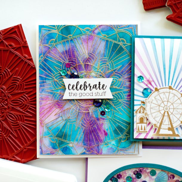 Spellbinders / Fun Stampers Journey Happy Place Project Kit is Here! #Spellbinders #NeverStopMaking #Cardmaking
