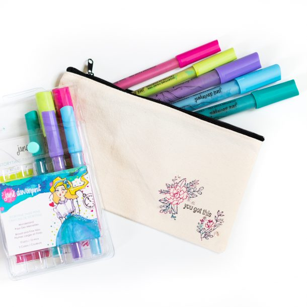 FREE Jane Davenport Wonderland StoryTime Paint Pens with $75+ Order!