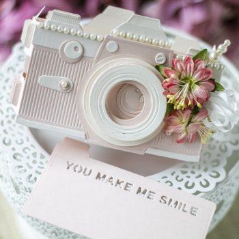 Spellbinders October 2020 Amazing Paper Grace Die of the Month is Here – Pop Up 3D Vignette Camera #Spellbinders #SpellbindersClubKits #NeverStopMaking #AmazingPaperGraceClubKit