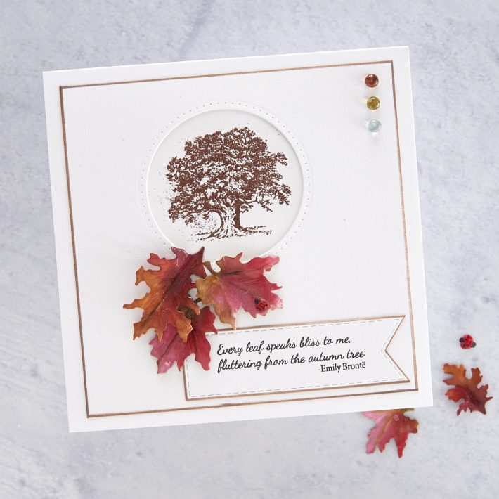 What's New at Spellbinders | Autumn Flora Collection by Susan Tierney-Cockburn. STP-024 Autumn Quotes #Spellbinders #NeverStopMaking #PaperFlowers #DieCutting #Cardmaking
