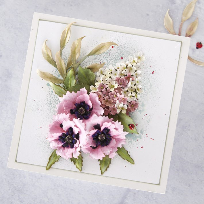 What's New at Spellbinders | Autumn Flora Collection by Susan Tierney-Cockburn. S4-1073 Autumn Hydrangea #Spellbinders #NeverStopMaking #PaperFlowers #DieCutting #Cardmaking