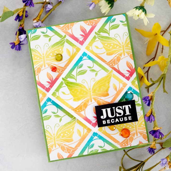 FSJ Buzzworthy Project Kit is Here! Just Because Card #NeverStopMaking #DieCutting #Cardmaking