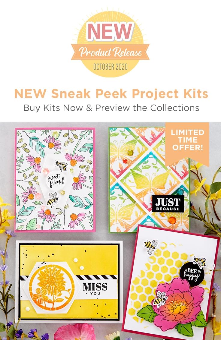 FSJ Buzzworthy Project Kit is Here! #NeverStopMaking #DieCutting #Cardmaking