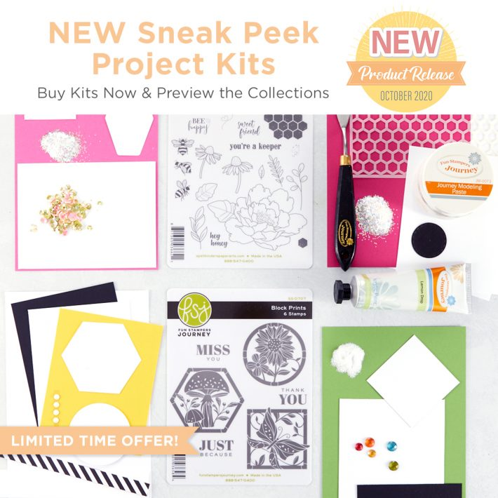 FSJ Buzzworthy Project Kit is Here! #NeverStopMaking #DieCutting #Cardmaking
