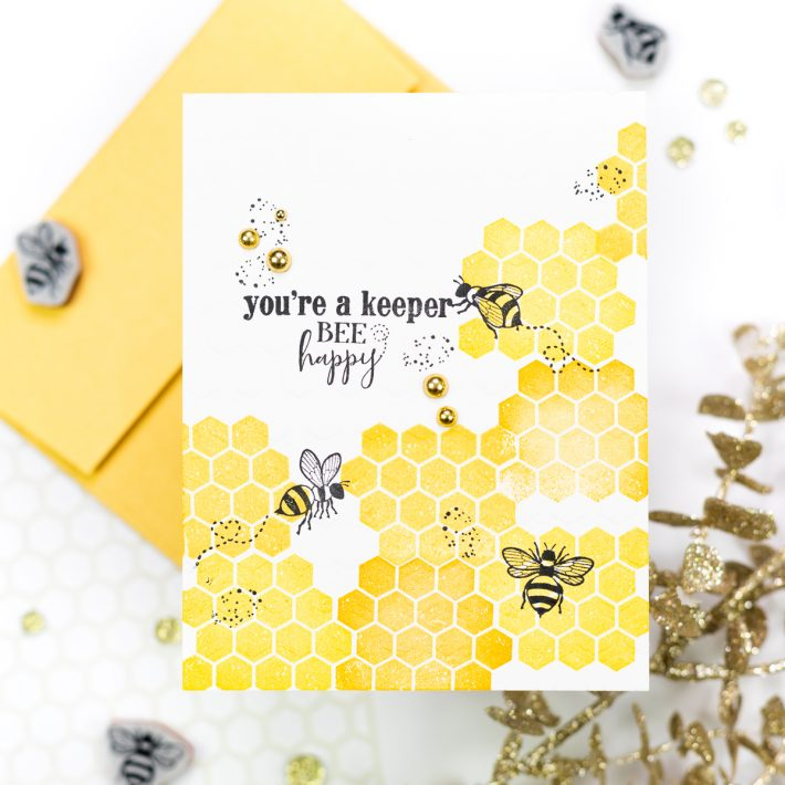 Spellbinders & FSJ Buzzworthy Project Kit   Cardmaking Inspiration With Jenny Colacicco   Video tutorial #NeverStopMaking #DieCutting #Cardmaking