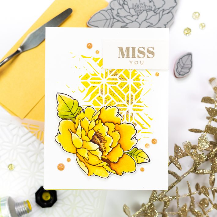 Spellbinders & FSJ Buzzworthy Project Kit | Cardmaking Inspiration With Jenny Colacicco | Video tutorial #NeverStopMaking #DieCutting #Cardmaking