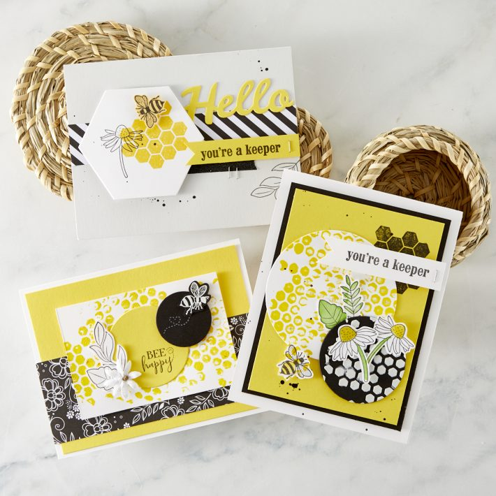 What's New | FSJ Buzzworthy Collection - Sweet as Honey Stamp Set from the FSJ Buzzworthy Collection