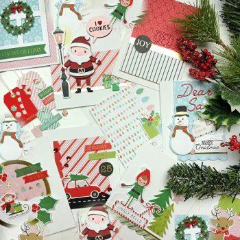 Spellbinders October 2020 Card Kit of the Month is Here – Dancin' Santa #Spellbinders #SpellbindersClubKits #Cardmaking