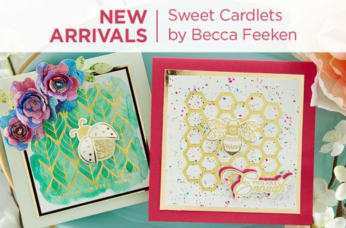 What's New | Sweet Cardlets Collection by Becca Feeken