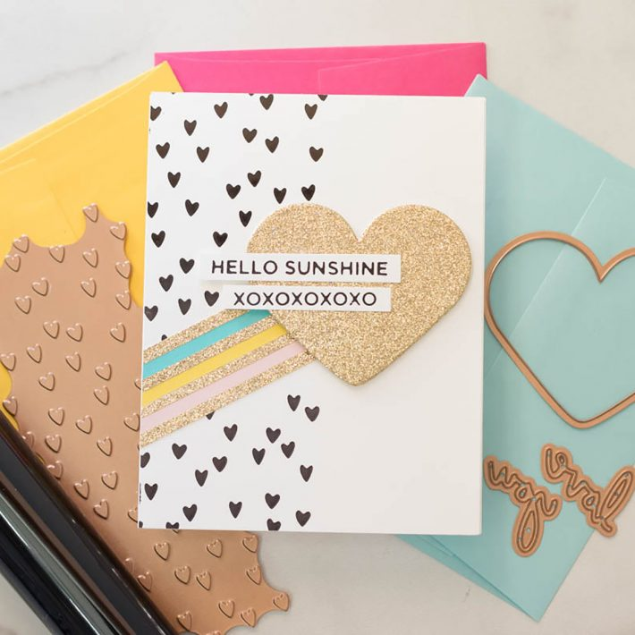 Spellbinders Expressions of Love Collection with Marie Heiderscheit