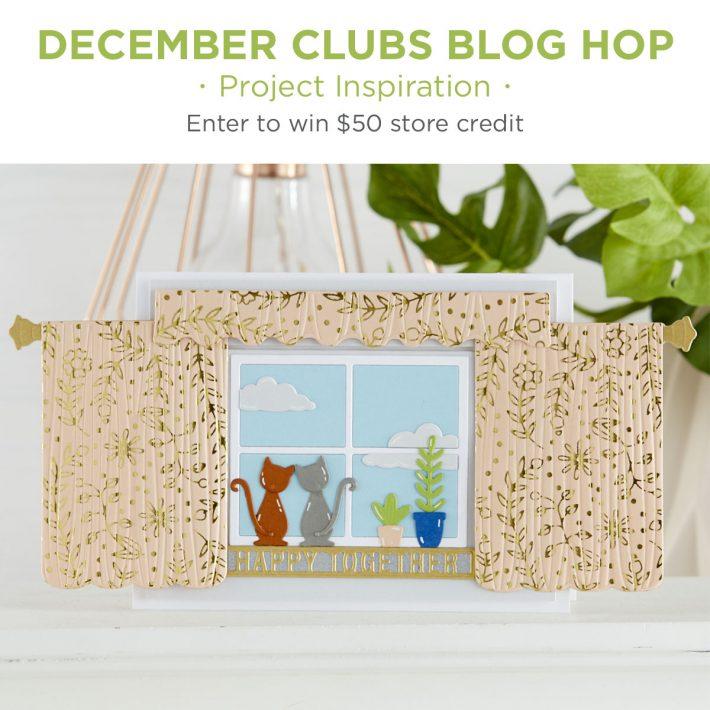 December 2020 Clubs Inspiration Blog Hop + Giveaways