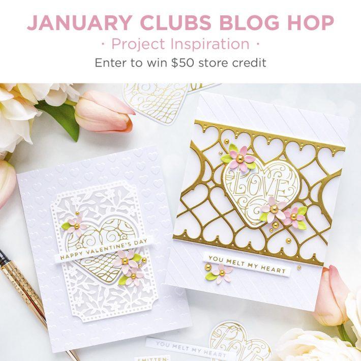 January 2021 Clubs Inspiration Blog Hop + Giveaways